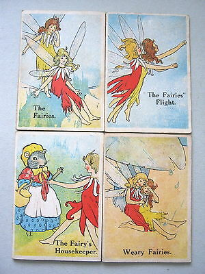 Fairy Snap Norvik Games Superb Artwork Complete Antique Playing Cardsgame 1910