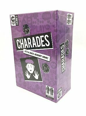 Ginger Fox Charades Classic Parlour Game Family Friends Fun Party Acting Game