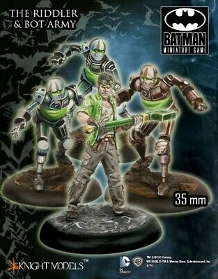 The Riddler And Bot Army Knight Models Batman Miniatures Game DC Comics New