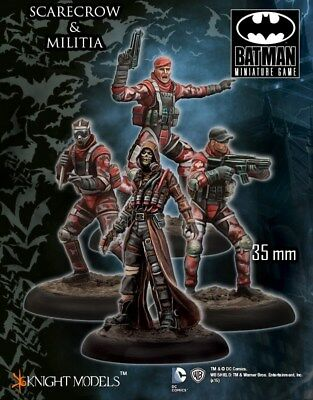 Scarecrow Militia Knight Models Batman Miniatures Game DC Comics New