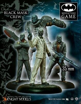 Black Mask Crew Knight Models Batman Miniatures Game DC Comics New