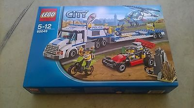 Lego City 60049 Transport Helicoptere De Police Neuf