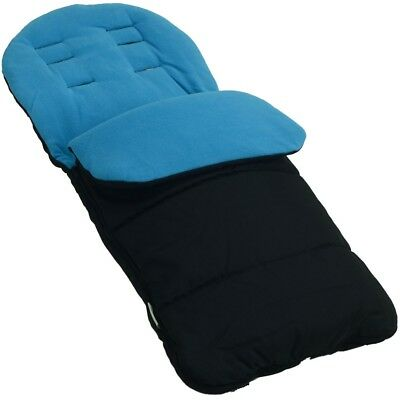 Footmuff / Cosy Toes Compatible with Graco Pushchair Ocean Blue