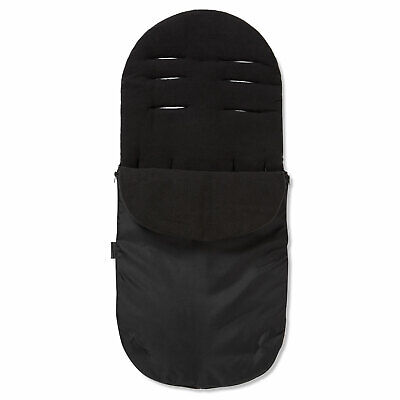 Footmuff / Cosy Toes Compatible with Quinny Buzz Pushchair Black Jack