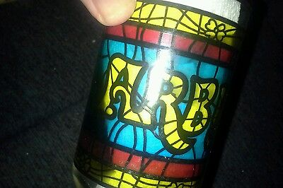 Vintage Arby's Stained Glass - Tiffany Style NICE!