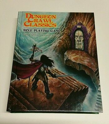 Dungeon Crawl Classics Role Playing Game Hardback Rare Dcc Rpg Oop Osr