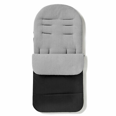 Footmuff / Cosy Toes Compatible With iCandy Peach Pushchair Dolphin Grey