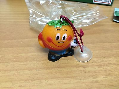Key Size Mascot. Vacuum 1982 Maskottchen  Naranjito Wm 82 Key Size New Old Stock