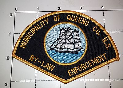 Queens NS Bylaw Enforcement Officer Police Dept Obsolete Patch