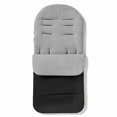 FYLO Premium Footmuff//Cosy Toes Fleece Lined Cosytoes Universal Fitting for Pushchairs Strollers Prams Buggy Baby Black Jack