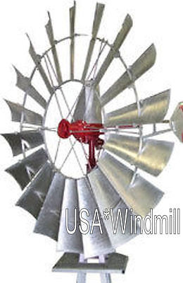 A702 USA*Windmill 8ft Windmill with 33ft Tower, NEW, FREE SHIPPING