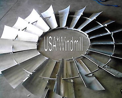 Aermotor Windmill Wheel for 8ft A702 Models, new w/o spokes, sections assembled