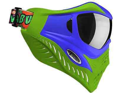 VForce Grill Paintball Thermal Maske SE - Cowabunga Lime/Blue