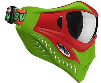VForce Grill Paintball Thermal Maske SE - Cowabunga Lime/Red
