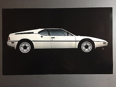 1980 BMW M1 Coupe Picture, Print, Poster RARE!! Awesome L@@K