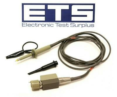 Tektronix P6106A Probe With Hook Clip & Ground Lead Alligator Clip