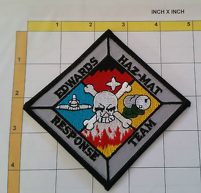 Fire Firefighter Edwards Haz-Mat Response Team Dept Patch