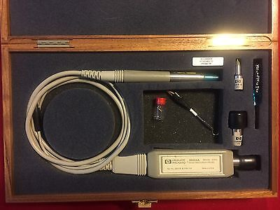 HP Agilent 85024A High Frequency Probe Kit W/ Case + Extra Parts USED/AS-IS