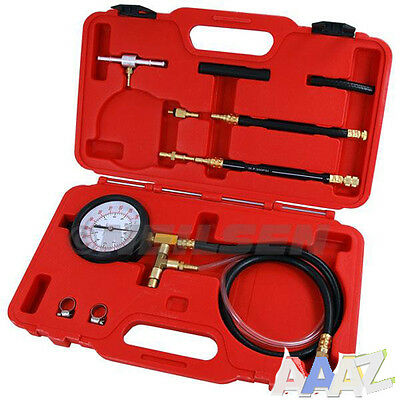 Fuel Injection Pressure Tester Car Tool Kit Ford Vauxhall GM Test Port Schroder