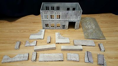 1/30th Scale Hougoumont Style Building WW2 French German British Diorama Farm