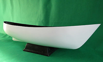 Fibreglass model boat hull  1:48 scale Steam drift fishing boat with plan