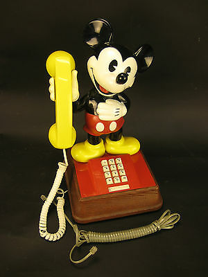 Vintage 1976 The Mickey Mouse Phone American Telecommunications