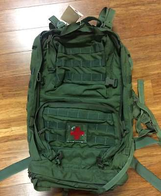 Medical Combat Systems Medical Evacuation Bag Mojo 610 in OD Green (Empty)