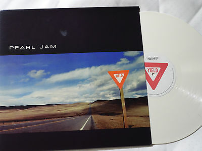 PEARL JAM - Yield - WHITE LP Vinyl -NEW & NOT SEALED.