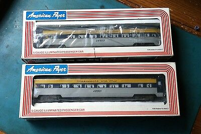 American Flyer by Lionel Chesapeake & Ohio Passenger Set 48901 and 48903