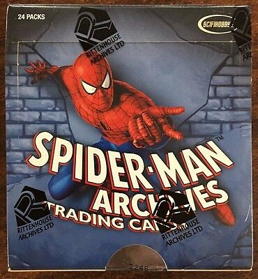 Spider-Man Archives Trading Cards Hobby Box 2009 Rittenhouse