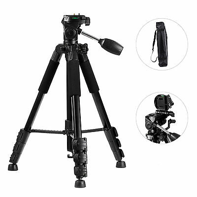Camera Tripod Monopod Aluminium Extendable Ball Head Canon Nikon DSLR Q111
