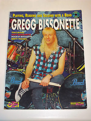 Gregg Bissonette Playing Reading & Soloing With A Band Sight Reading/drum Book