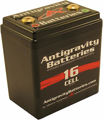 Antigravity Batteries AG1601 16 Cell Lithium Ion Small Case Motorcycle Battery