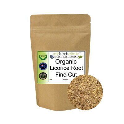 Licorice Root Australia Naturopathically Prepared Organic Dried Herb Tea Aust