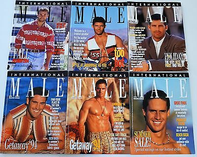 6 Vintage INTERNATIONAL MALE Catalogs - 1994 (RARE, OUT-OF-PRINT)