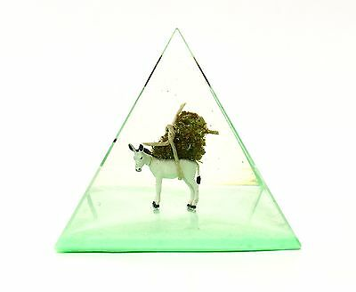 Pack Mule Sativa Cannabis Bud Pyramid Keepsake. Made In USA Oregon