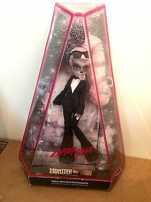 Monster High LADY GAGA as ZOMBY GAGA Doll Figure! NEW! MATTEL Joanne IN HAND