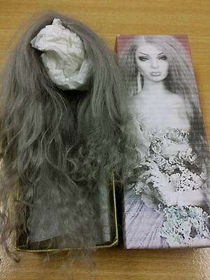 Superdoll Sybarite New Headskin Wig Grey without Bangs + FREE SHIPPING!