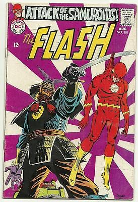 The Flash # 180 , 181 Nice Lot