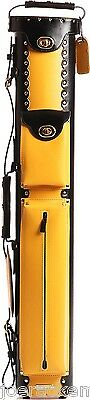 Instroke GEO Series Recycled Leather 2x4 Yellow Case - INSGO24BK/YL -Free SHIP