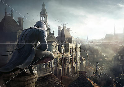 Poster Assassins Creed tamaño A3 42 x 30 cm. (16,5 x 11,8 inches)