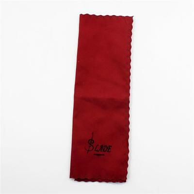 Red Cotton Soft Cleaning Clean Cloth Music Instruments Wiping Accessories