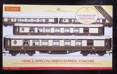 Hornby R4254 Venice Simplon Orient Express 4-Coach Pack Boxed