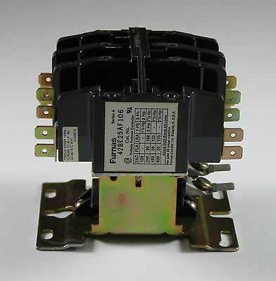 Furnas Magnetic Contactor Definite Purpose Series A NO 4P 42BE25AF106