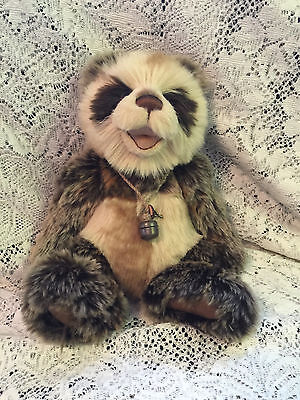 """Anniversary Woody * Charlie Bears 2015 Plush * 12"""" New With Tags"""