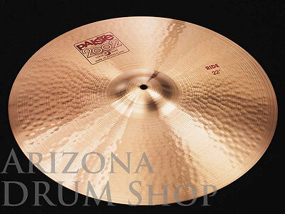 """Paiste  2002  22""""  RIDE (Standard / Classic Weight)  -  NEW  -  IN STOCK!"""