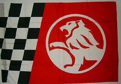 Holden brand new HUGE 107cm x 73cm event flag for home bar brew or collector