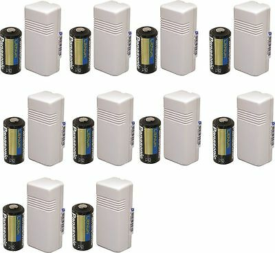 10Pcs  HONEYWELL ADEMCO 5816WMWH WIRELESS TRANSMITTERS (Battery and magnet)