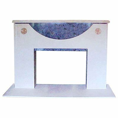 Ronn Jaffe One-of-a-Kind Modern Architectural Marble Mantel