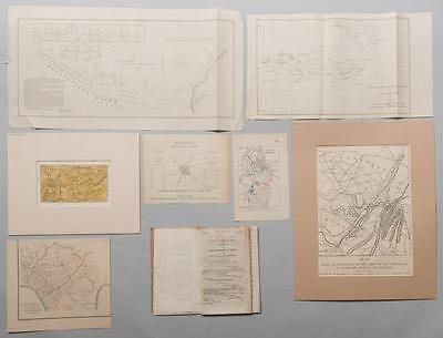 8 Tennessee Military & Survey Maps Lot 214